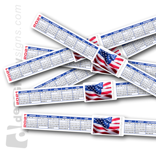 FREE Printable 2021 Calendars & 2021 Calendar Strips