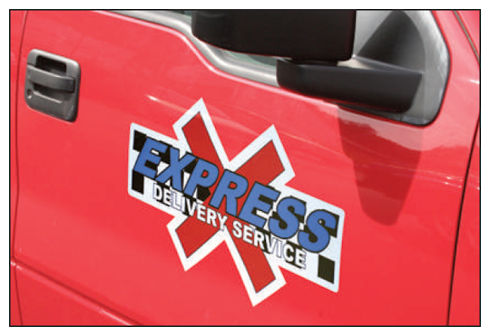 Image of Custom Vehicle Door Graphics by deSIGNery