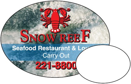 Images of our oval Refrigerator Magnet No. 360