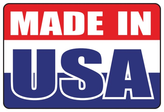 Image of Made in USA Roll Labels by deSIGNery