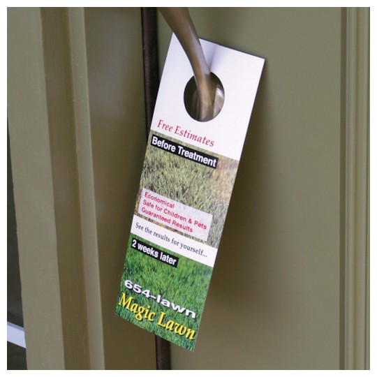 Image of Custom Door Hangers by deSIGNery