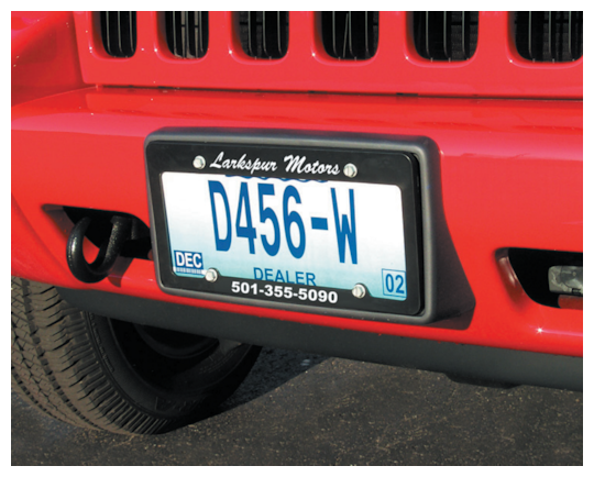 Image of License Plate Frames by deSIGNery