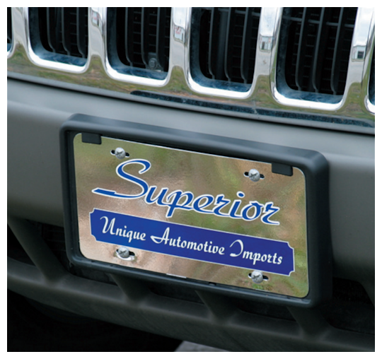 Image of Custom License Plates by deSIGNery