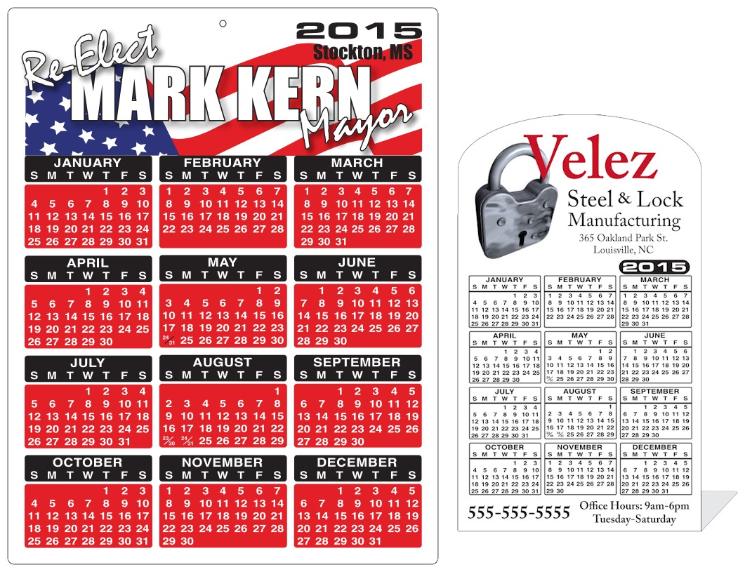 Image of 2021 Plastic Calendars by deSIGNery