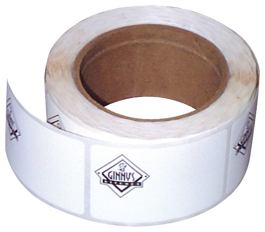 Image of Custom Printed Labels on a Roll by deSIGNery
