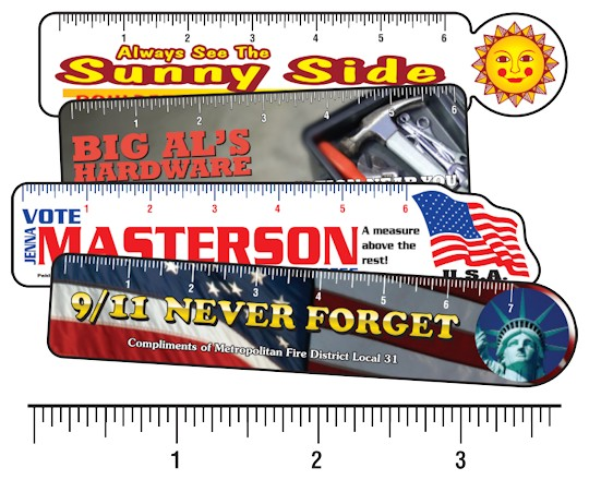 Image of Custom Printed Rulers by deSIGNery
