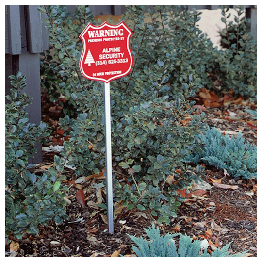 Image of Security Yard Signs by deSIGNery