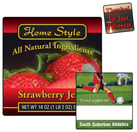 Image of Square Labels by deSIGNery