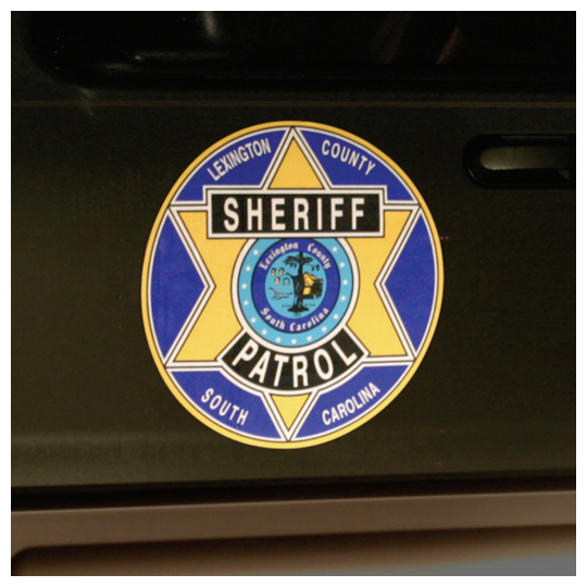 Image of Custom Printed White Reflective Decals by deSIGNery
